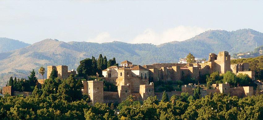 Alcazaba di Malaga