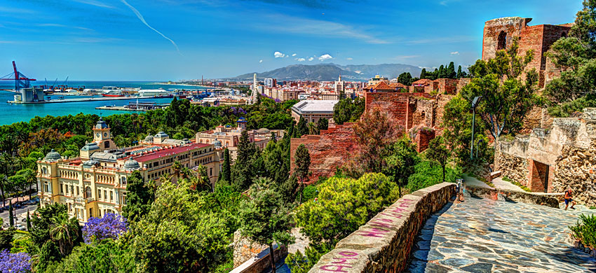 Itinerario di 3 giorni a Malaga